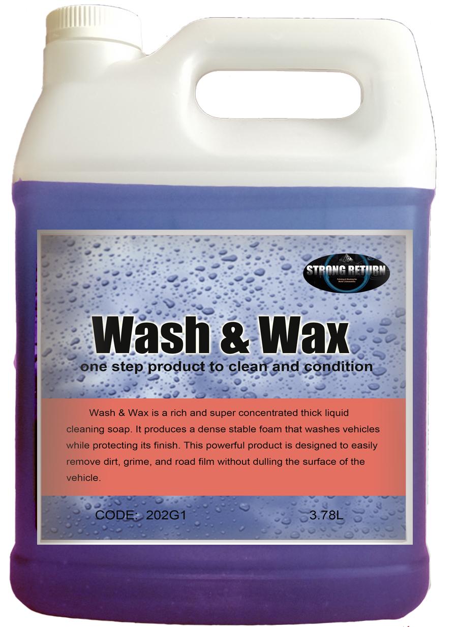202  WASH AND WAX